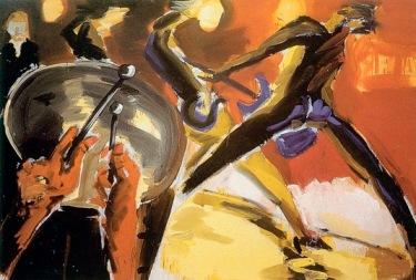 Ράινερ Φέτινγκ, «Ντράμερ και κιθαρίστας», 1949