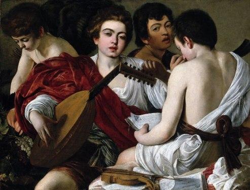 Καραβάτζιο, «Οι μουσικοί», 1595