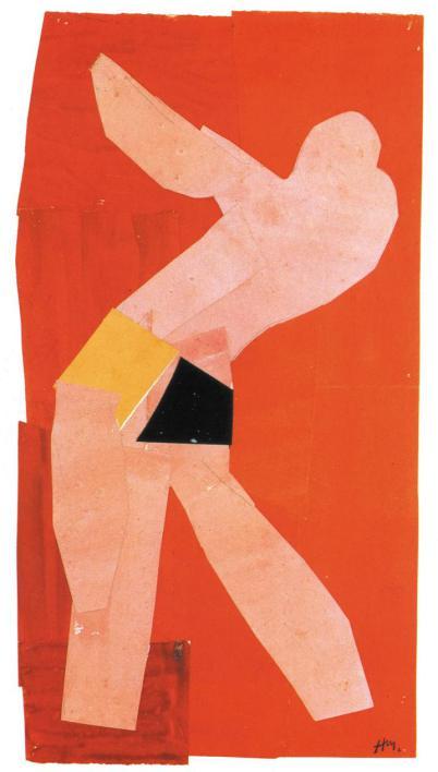 Ανρί Ματίς, «Κόκκινος χορευτής», 1938