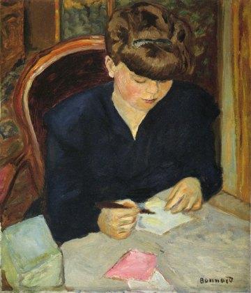 """Λουί Μπονάρ, """"Η επιστολή"""", 1906"""