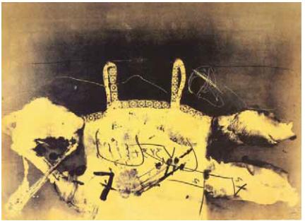 """A. Τάπιες, """"Δαντέλλα"""", 1977"""