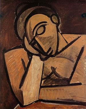Πάμπλο Πικάσο, «Ανάπαυση», 1908