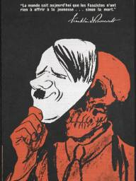 Αμερικανική αντιναζιστική αφίσα του Β΄ Παγκοσμίου Πολέμου