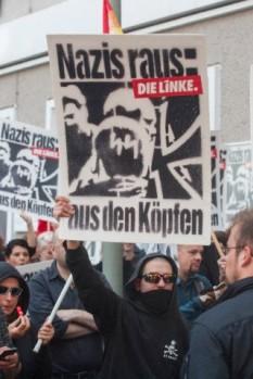 Διαδήλωση κατά των νεοναζί, Βερολίνο, 22.8.2013