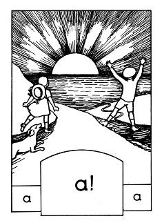 """Από το """"Αλφαβητάρι με τον ήλιο"""", 1919"""