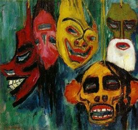 """Έμιλ Νόλντε, """"Μάσκες"""", 1911"""