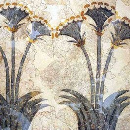 Τοιχογραφία από το Ακρωτήρι της προϊστορικής Σαντορίνης