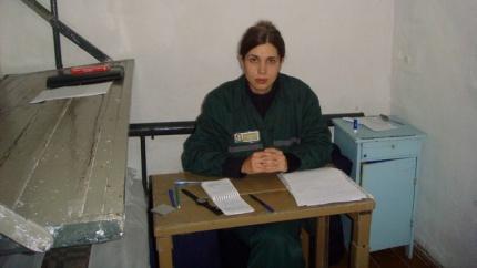 Η Ναντέζντα Tολοκονίκοβα στη φυλακή, 24.9.2013. Φωτογραφία: Ilya Shablinsky/AFP/Getty Images