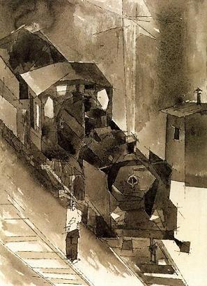 Λάιονελ Φάινινγκερ, «Ατμομηχανή 4», 1933