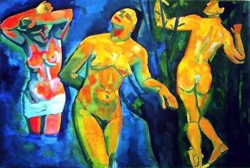 Αντρέ Ντεραίν, «Λουόμενοι», 1907