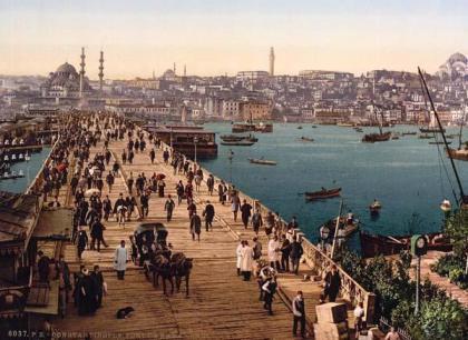 Κωνσταντινούπολη, 19ος αιώνας. Επιστολικό δελτάριο
