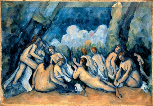 Πωλ Σεζάν, «Λουόμενοι», 1906