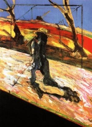 """Φράνσις Μπέικον, """"Σπουδή για ένα πορτρέτο του Βαν Γκογκ"""", 1957"""