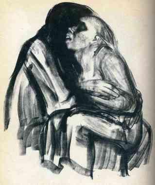 """Καίτε Κόλιβιτς, """"Ο θάνατος με ένα κορίτσι αγκαλιά"""""""