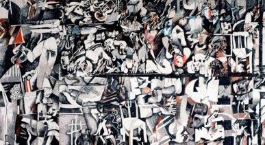 """Ντία Αζάβι, """"Σάμπρα, Σατίλα"""", 1982-1983"""