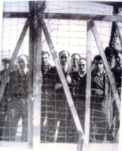 Πολιτικοί κρατούμενοι στο στρατόπεδο Παύλου Μελά, Θεσσαλονίκη, 1948-1949 (ΑΣΚΙ)