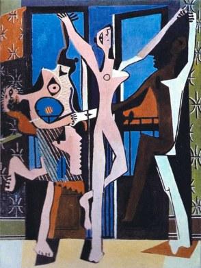 """Πάμπλο Πικάσο, """"Τρεις χορευτές"""", 1925"""