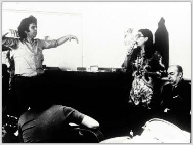 """Με τη Μαρία Φαραντούρη και τον Πάμπλο Νερούντα, σς πρόβες για το """"Κάντο Χενεράλ"""" (Γενικό Άσμα)"""