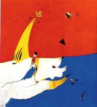 """Χουάν Μιρό, """"Τοπίο"""", 1924-25"""