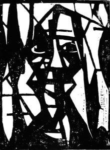 """Κρίστιαν Ρολφς, """"Mεγάλο κεφάλι"""", 1922"""