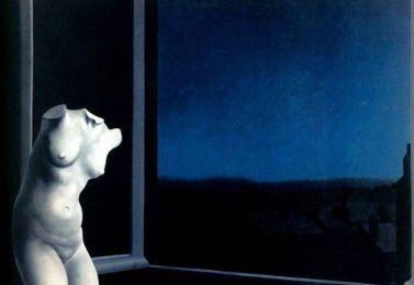 """Ρενέ Μαγκρίτ, """"Η ωραία της νυκτός"""""""