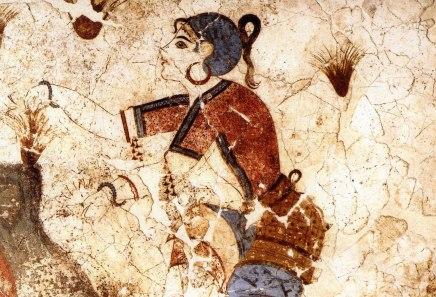 Τοιχογραφία από το προϊστορικό Ακρωτήρι