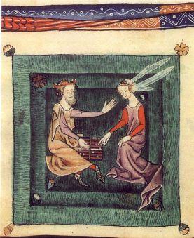 Από ψαλτήρι, αρχές 13ου αιώνα