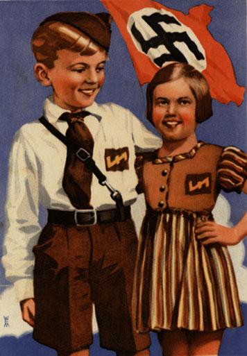 Αφίσα της ναζιστικής νεολαίας