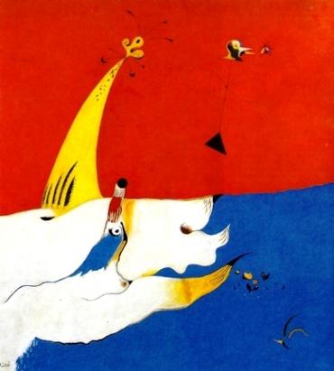 Χουάν Μιρό, «Τοπίο», 1924-25