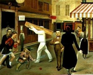 """Μπαλτύς, """"Ο δρόμος"""", 1933"""