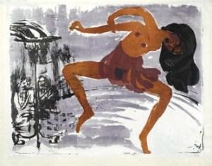 """Έμιλ Νόλντε, """"Χορευτής"""", 1913"""