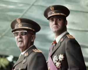 Ο Φράνκο και ο (πρίγκιπας τότε) Χουάν Κάρλος, 1973