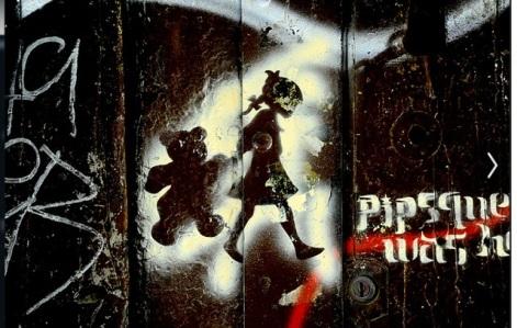 Γκράφιτι σε δρόμο της Βαρκελώνης