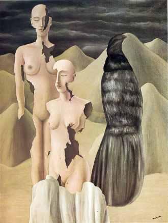 Ρενέ Μαγκρίτ, «Πολικό φως», 1926