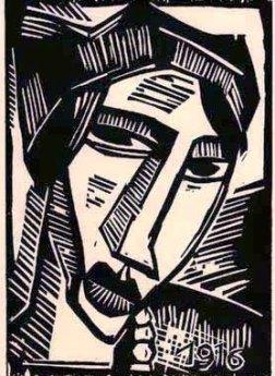 Έργο του Καρλ Σμιτ-Ρότλουφ, 1919