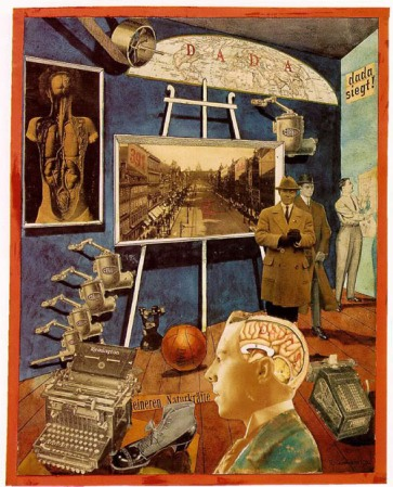 Koλάζ του  Raoul Hausmann