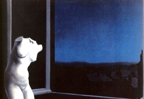 """Ρενέ Μαγκρίτ, """"Η ωραία της νυκτός"""", 1932"""