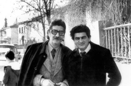 Μανόλης Αναγνωστάκης και Δημήτρης Σκουλίδης