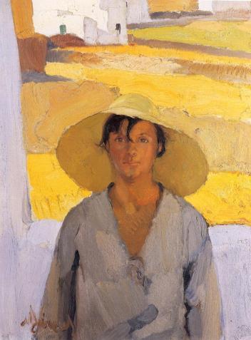 """Νικόλαος Λύτρας, """"Το ψάθινο καπέλο"""", 1923-1926"""