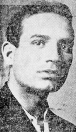 Ο Μιχάλης Μπεζαντάκος. Η φωτογραφία από την «Ακρόπολι», 6.3.1932, όπου δημοσιεύεται πρωτοσέλιδη η είδηση της απόδρασής του από τις Φυλακές Συγγρού (Βιβλιοθήκη ΕΛΙΑ).