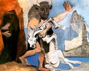 «Μινώταυρος» του Πάμπλο Πικάσο, 1936