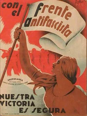 Aντιφασιστική αφίσα του Ισπανικού Εμφυλίου