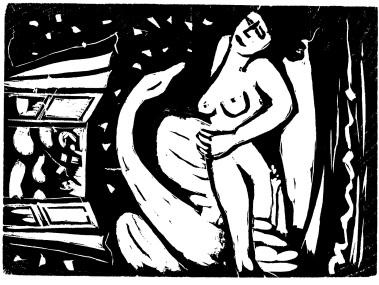 Τάκης Κατσουλίδης, «Η Λήδα και ο Κύκνος», 1993