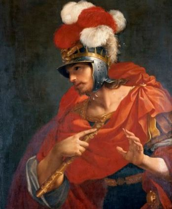 """Ντονάτο Κρέτι, """"Μέγας Αλέξναδρος"""", 18ος αιώνας"""
