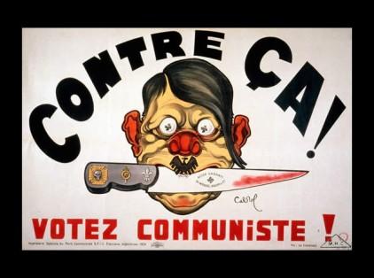 Αφίσα του Γαλλικού Κομμουνιστικού Κόμματος, 1936