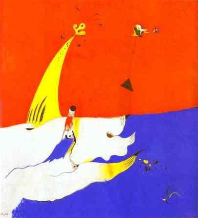 """Χουάν Μιρό, """"Τοπίο"""", 1925"""