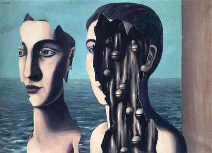 Ρενέ Μαγκρίτ, «Το διπλό μυστικό», 1927