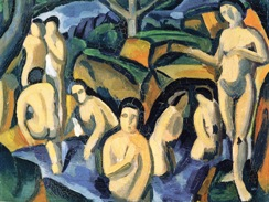 Aντρέ Ντερέν, «Λουόμενοι», 1908