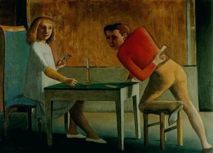 Μπαλτύς, «Το παιχνίδι με τις κάρτες», 1948-50