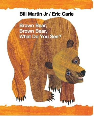 Το εξώφυλλο του βιβλίου «Αρκούδα καφέ, αρκούδα καφέ, τι βλέπεις;». Το 2010 το σχολικό συμβούλιο του Τέξας το απαγόρευσε, μπλέκοντας τον συγγραφέα του με τον συνονόματο μαρξιστή φιλόσοφο Μπιλ Μάρτιν.